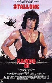poster Rambo III (1988)