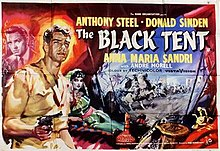 poster The Black Tent (1956)