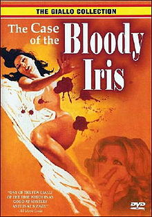 poster The Case of the Bloody Iris (1972)