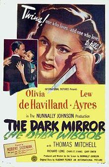 poster The Dark Mirror (1946)