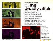 poster The Deadly Affair (1966)