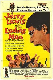 poster The Ladies Man (1961)