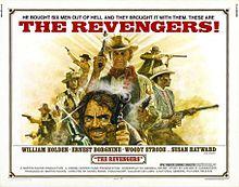 poster The Revengers (1972)
