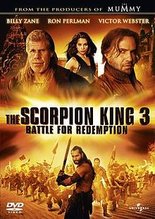 poster The Scorpion King 3 Battle for Redemption (Video 2012)
