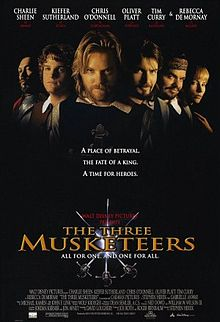 poster The Three Musketeers (1993)