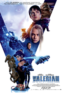 poster Valerian and the City of a Thousand Planets (2017)