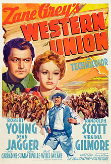 poster Western Union (1941)