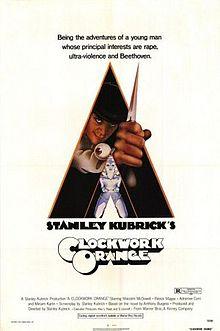 poster A Clockwork Orange (1971)