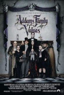 poster Addams Family Values (1993)