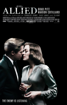 poster Allied (2016)