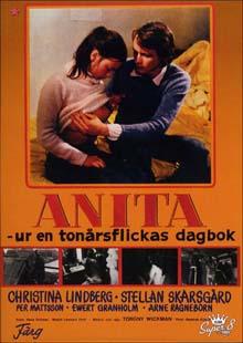 poster Anita – ur en tonarsflickas dagbok Anita Swedish Nymphet (1973)