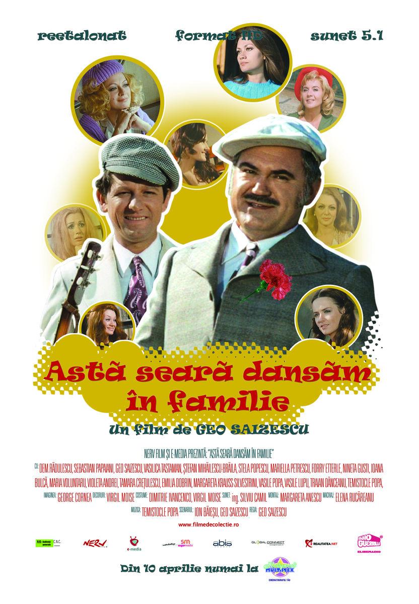 poster Asta seara dansam in familie (1972)