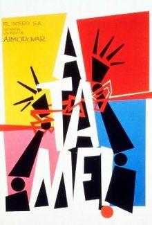 poster Atame (1989)