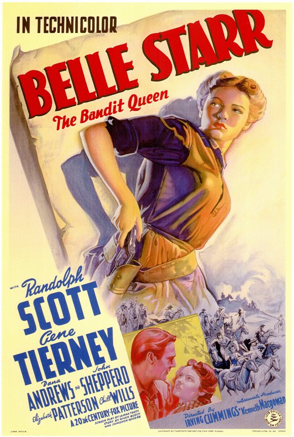 poster Belle Starr (1941)
