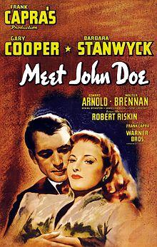 poster Doe Meet John Doe (1941)