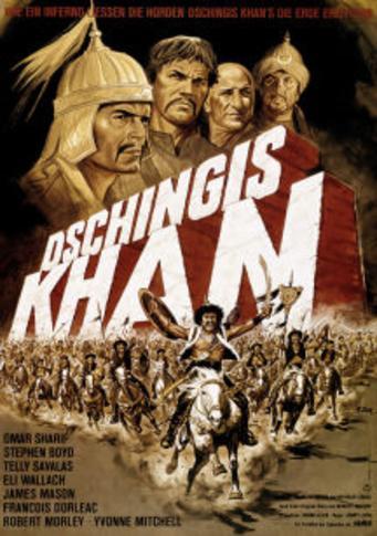 poster Genghis Khan (1965)