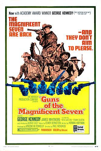 poster Guns of the Magnificent Seven (1969)