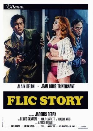 poster Il etait une fois un flic - Flic Story (1975)