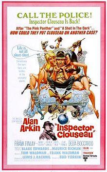 poster Inspector Clouseau (1968)