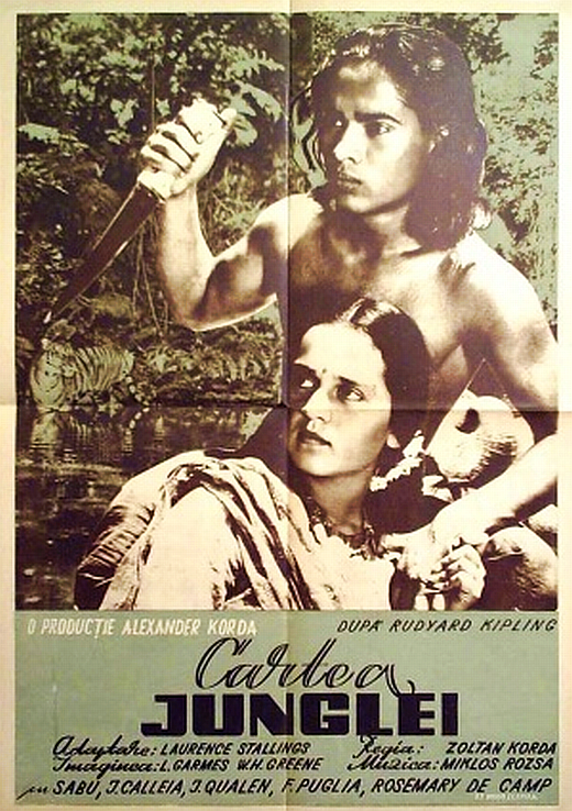 poster Jungle Book (1942)