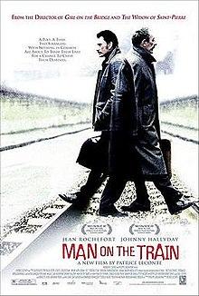 poster L homme du train (2002)