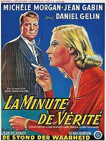 poster La Minute De Verite (1952)