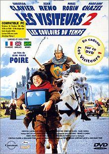 poster Les couloirs du temps Les visiteurs II (1998)
