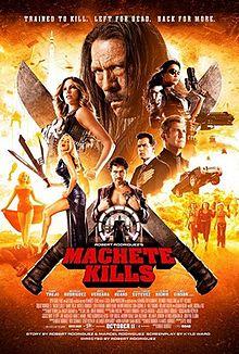 poster Machete Kills (2013)
