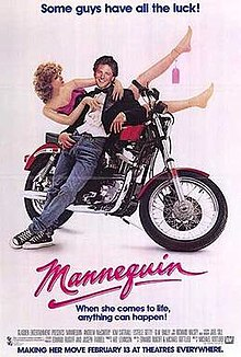 poster Mannequin (1987)