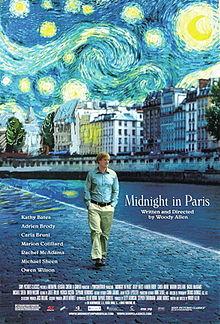 poster Midnight in Paris (2011)