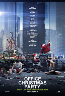 poster Office Christmas Party (2016)