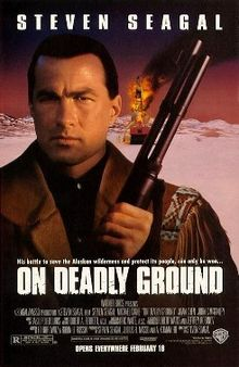 poster On Deadly Ground (1994)