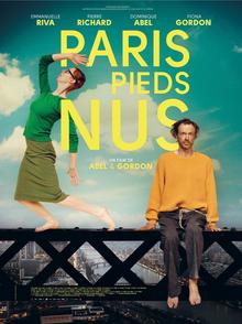 poster Paris pieds nus - Lost in Paris (2016)