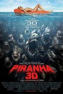 poster Piranha 3D (2010)