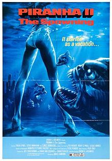 poster Piranha Part Two The Spawning (1981)