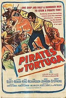 poster Pirates Of Tortuga (1961)