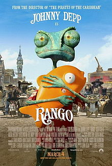 poster Rango (2011)