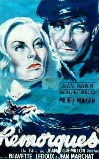 poster Remorques aka Stormy Waters (1941)