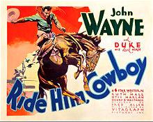 poster Ride Him, Cowboy (1932)