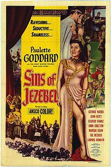poster Sins of Jezebel (1953)