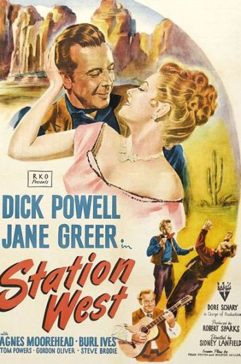 poster Station West (1948)