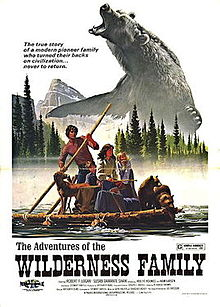 poster The Adventures of the Wilderness Family (1975)