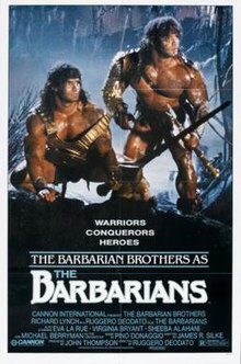 poster The Barbarians (1987)