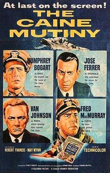 poster The Caine Mutiny (1954)