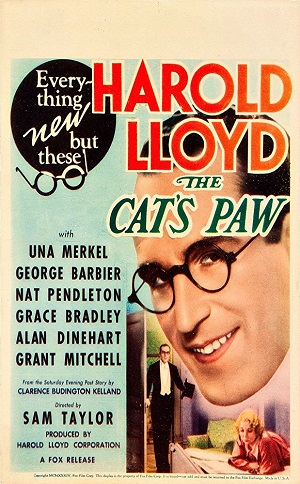 poster The Cats-Paw (1934)