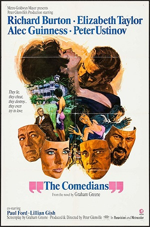 poster The Comedians (1967)