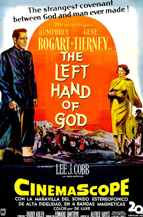 poster The Left Hand of God (1955)