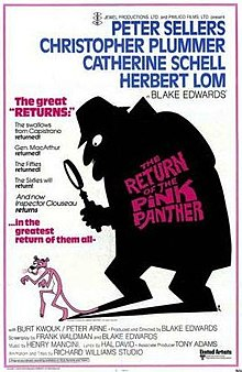 poster The Return of the Pink Panther (1975)