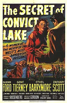 poster The Secret of Convict Lake (1951)