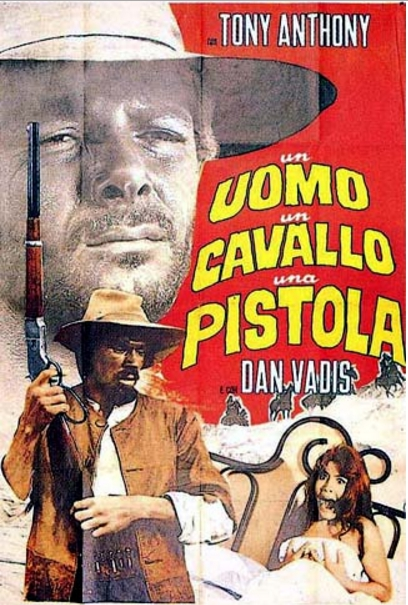 poster Un uomo, un cavallo, una pistola (1967)